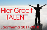 hier groeit talent minibanner